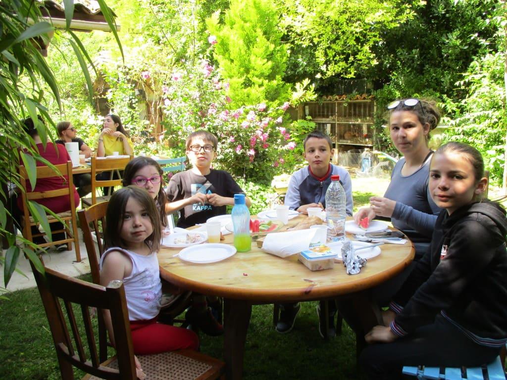 la table des jeunes