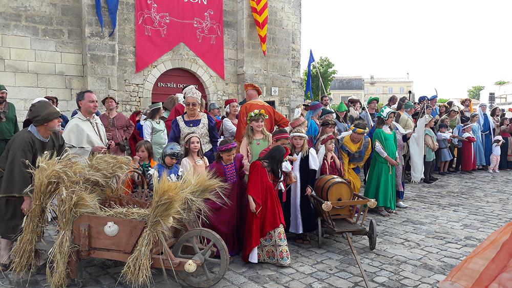 Fête médiévale de Pons - entraînements